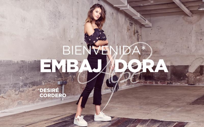 Embajadora Desire Cordero