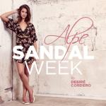 """Sandalias para verano en la """"SandalWeek"""""""