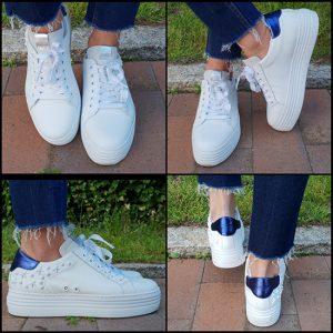 Sneaker Malena White Stars