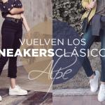 Nuestros clásicos han vuelto. Sneakers total white para este verano.