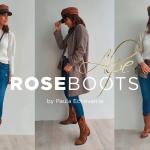 Paula Echevarría Rose Boots