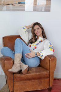 Silvia Zamora Jeans Alpe Woman Shoes