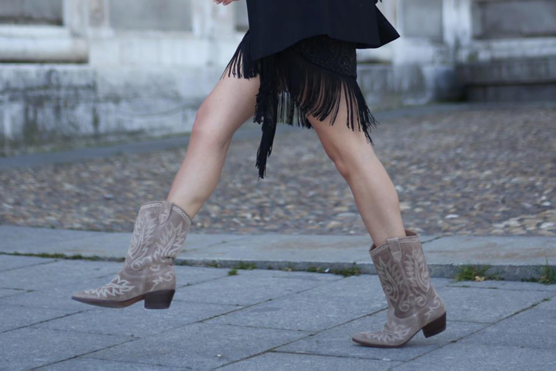 Las botas cowboy nunca pasan de moda: Alpe Rose
